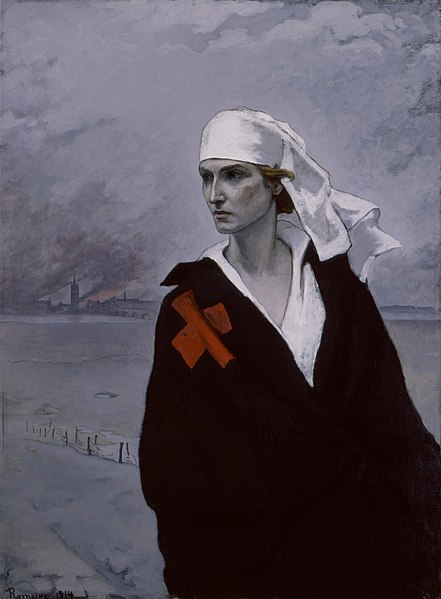"Romaine Brooks' ""La France Croisee"""