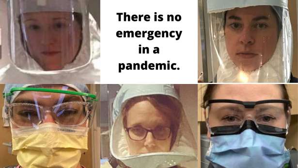 There is no emergency in a pandemic.